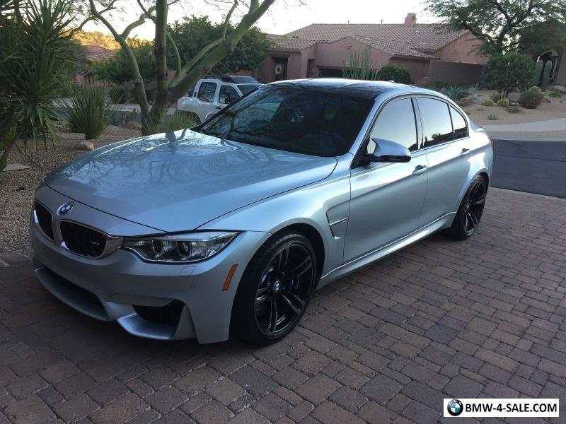 2016 Bmw M3 Sedan Executive Pkg For Sale In United States
