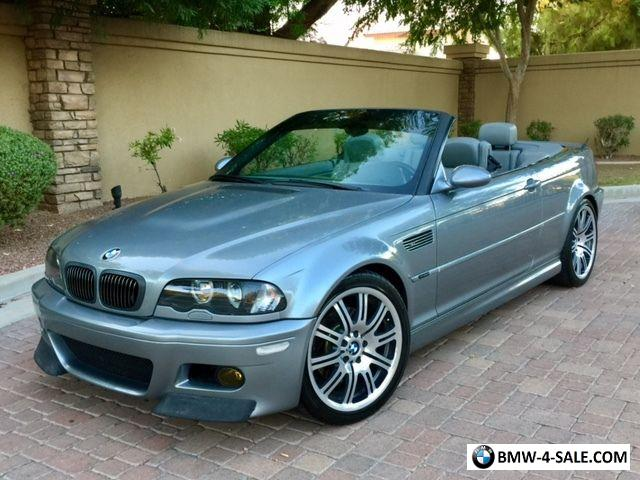 2003 BMW M3 E46 M3 Convertible CSL ZHP for Sale in United ...
