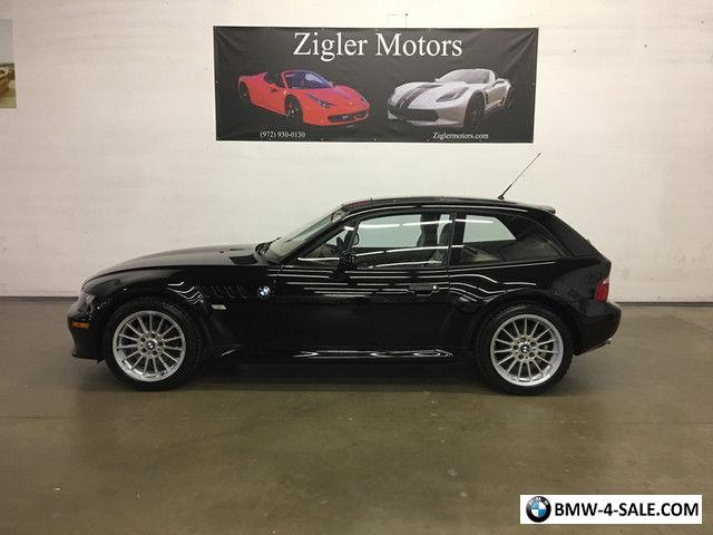 2001 BMW Z3 Coupe Coupe 2-Door for Sale in United States