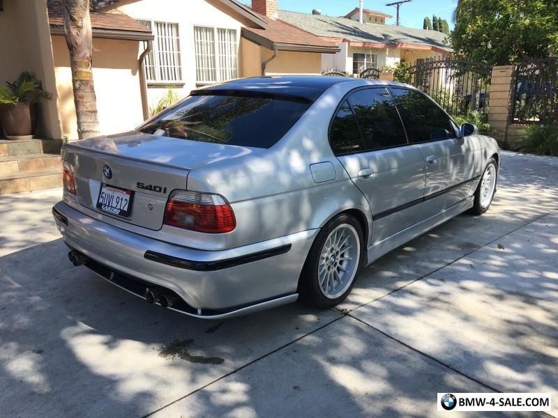 2000 Bmw 540i For Sale