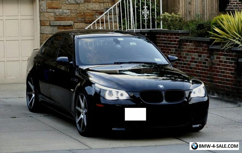 BMW M5 For Sale >> 2008 BMW M5 Black Sapphire Metalic w. Available Extended ...
