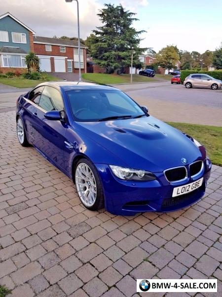 2012 coupe m3 for sale in united kingdom. Black Bedroom Furniture Sets. Home Design Ideas