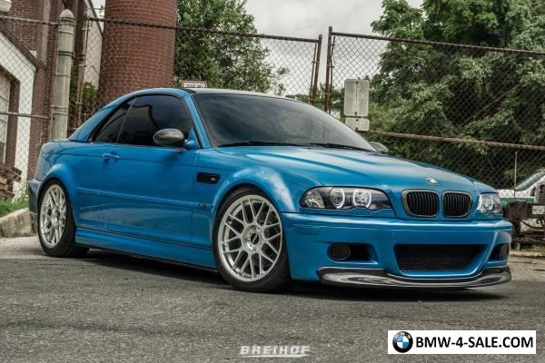 2003 BMW M3 Base Convertible 2-Door for Sale in United States