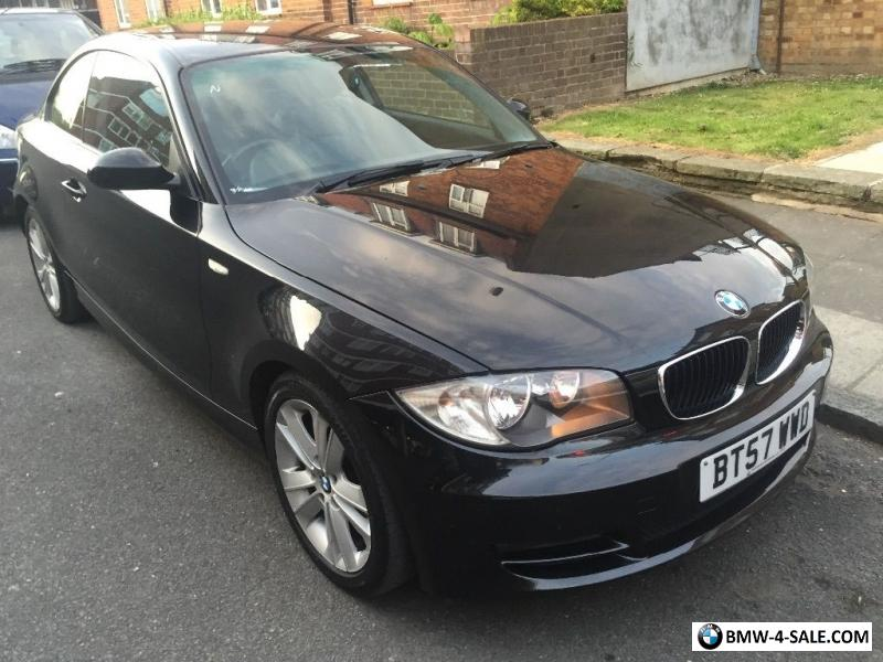 2008 coupe 118 for sale in united kingdom - Black bmw 1 series coupe ...