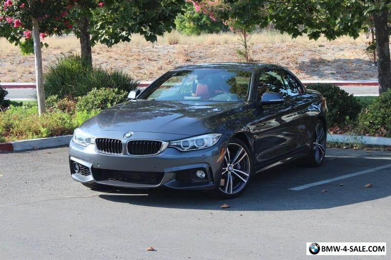 2015 bmw 4 series convertible m sport for sale in united states. Black Bedroom Furniture Sets. Home Design Ideas