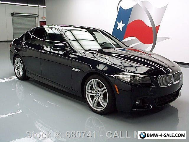 2014 bmw 5 series 550i m sport line executive sunroof nav. Black Bedroom Furniture Sets. Home Design Ideas