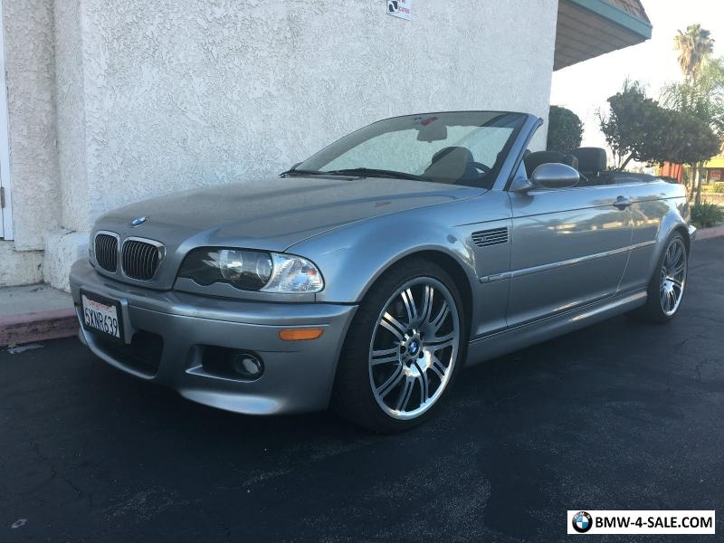 2006 Bmw M3 Convertible For