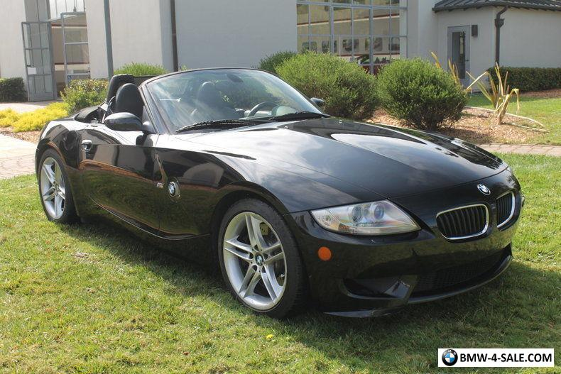 2007 Bmw Z4 M Roadster Convertible 2 Door For Sale In United States