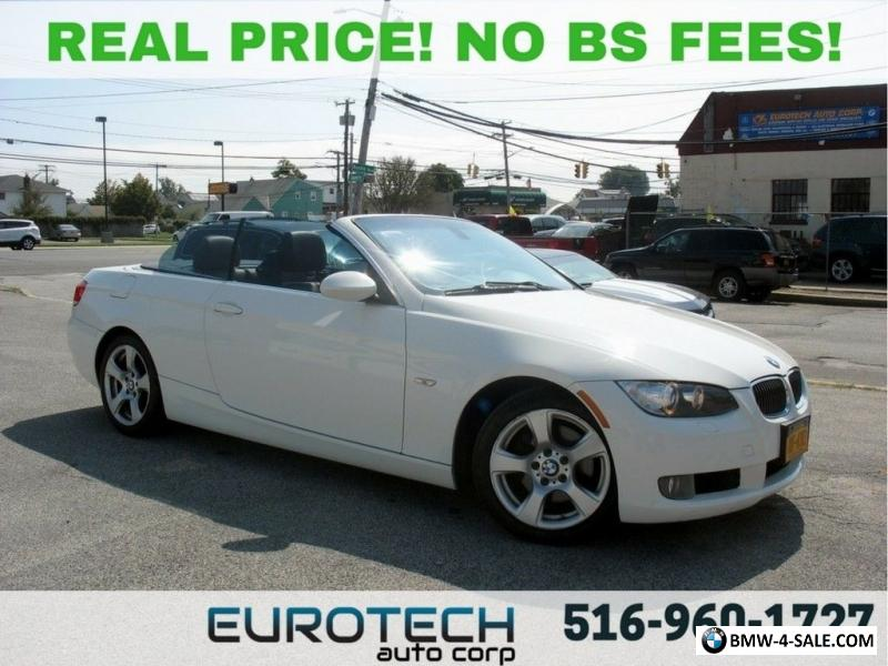 2009 Bmw 3 Series 328i Convertible 6 Sd For