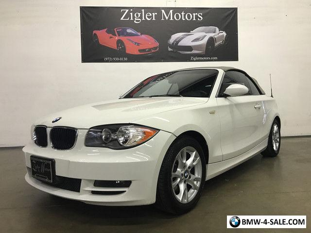 2008 bmw 1 series base convertible 2 door for sale in united states. Black Bedroom Furniture Sets. Home Design Ideas