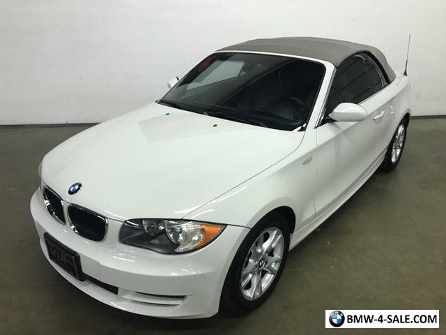 2008 BMW 1-Series Base Convertible 2-Door for Sale in United States