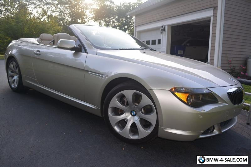 2005 Bmw 6 Series 645ci Convertible For