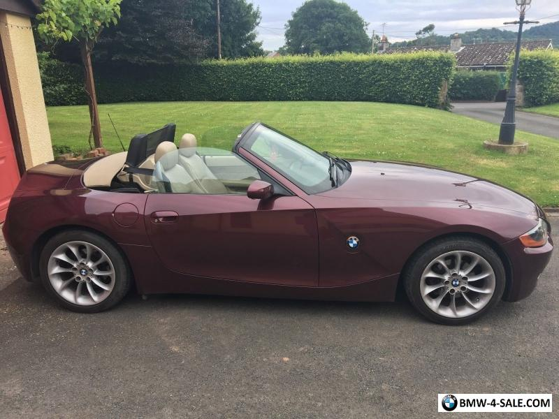 2004 Sports Convertible Z4 For Sale In United Kingdom