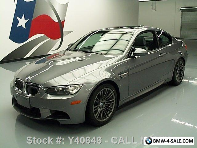 2008 BMW M3 COUPE 6-SPEED SUNROOF NAV HTD SEATS for Sale in United ...