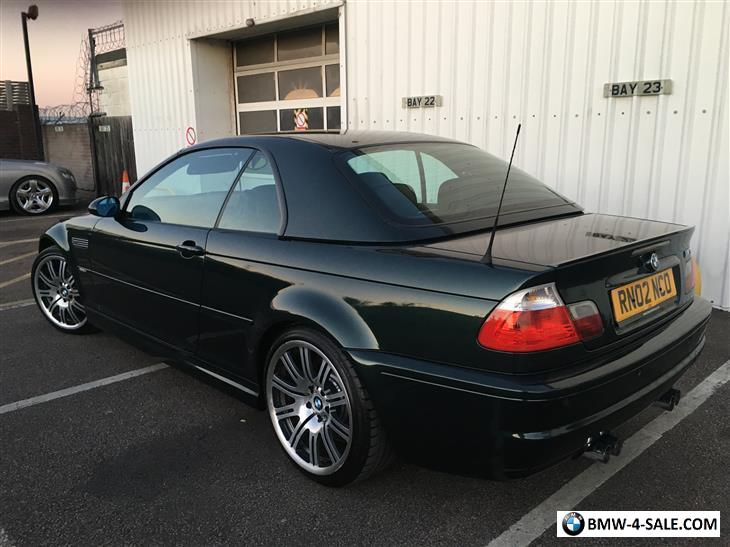 2002 Bmw M3 For Sale In United Kingdom