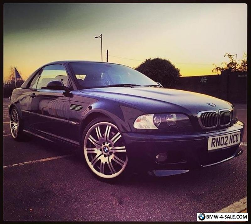 2002 Bmw M3 For Sale In United Kingdom