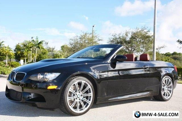 2013 BMW M3 Convertible for Sale in Canada