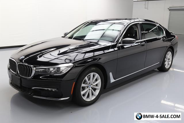 2017 Bmw 7 Series For