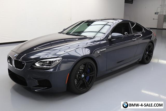 2017 Bmw M6 Base Coupe 2 Door For