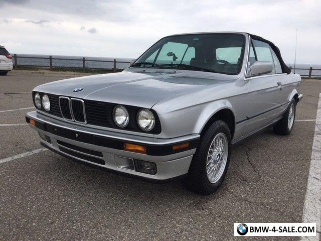 BMW Series Convertible For Sale In United States - 1991 bmw