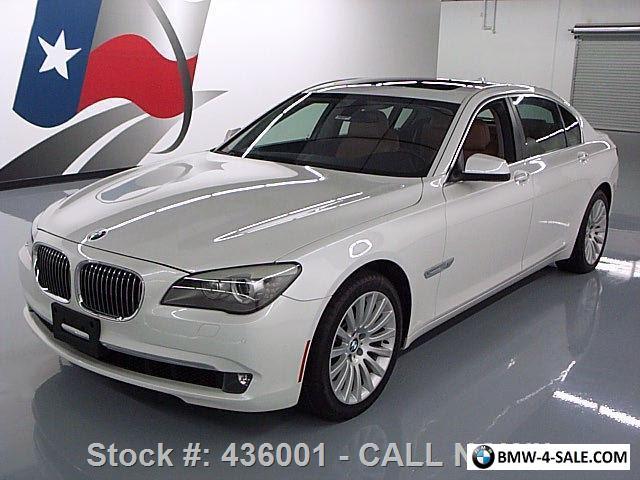 2012 BMW 750Li >> 2012 Bmw 7 Series 750li Xdrive Awd Lux Seat Pkg Sunroof Nav