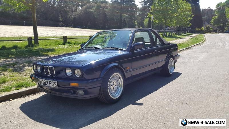 newest 1f3a8 e8391 1990 Sports/Convertible 320 for Sale in United Kingdom