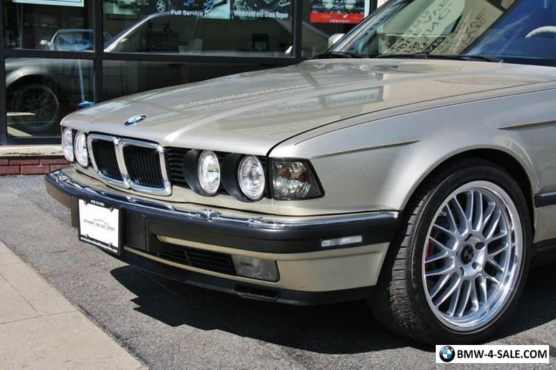1990 BMW 7 Series 750il For Sale