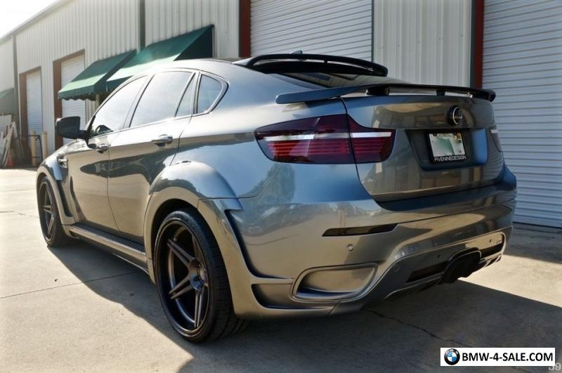 2011 bmw x6 hamann tycoon evo widebody for sale in united states. Black Bedroom Furniture Sets. Home Design Ideas