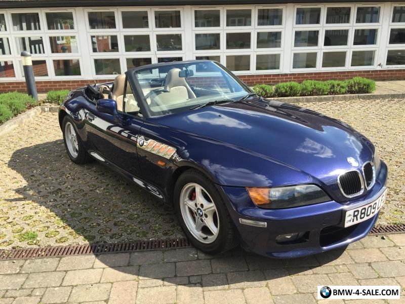 1997 Sports Convertible Z3 For Sale In United Kingdom