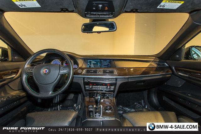 2011 BMW 7-Series Alpina B7 LWB HUD Rear Entertainment Luxury ...