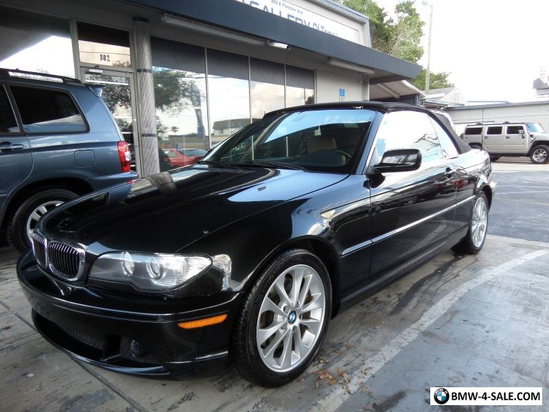 2005 BMW 3Series 330ci Convertible for Sale in Canada