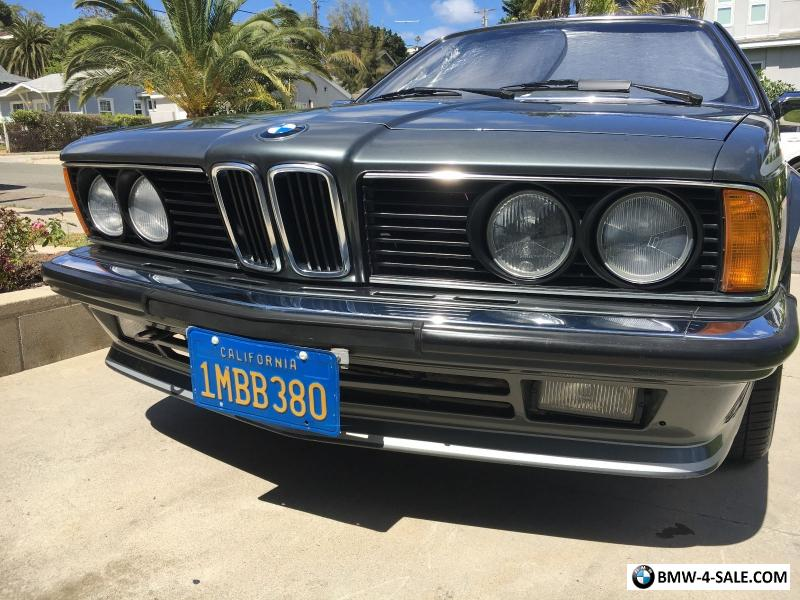 1985 bmw 6 series for sale in united states. Cars Review. Best American Auto & Cars Review