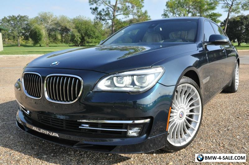 2014 BMW 7 Series ALPINA B7 RWDLWB20149RADARCRUISEBO