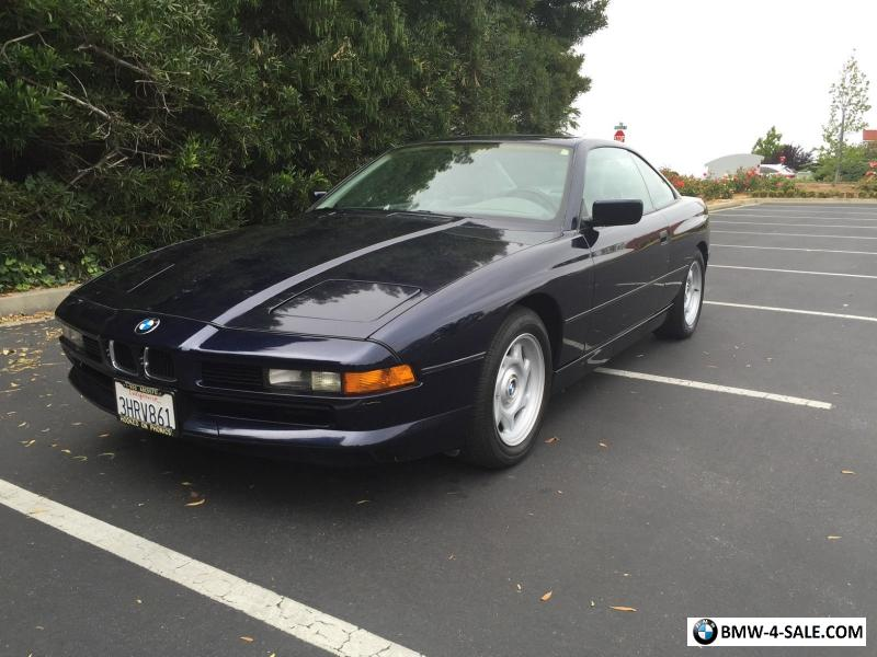 1993 bmw 8 series 850ci for sale in united states. Black Bedroom Furniture Sets. Home Design Ideas