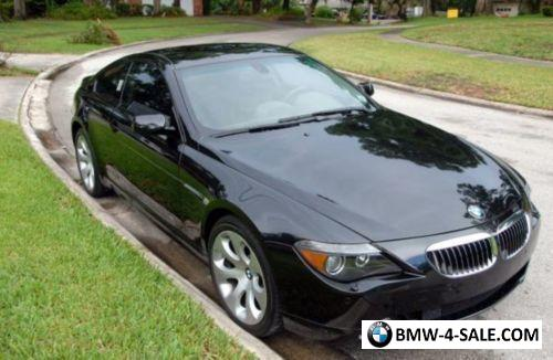 2005 bmw 6 series 645 ci coupe for sale in united states. Black Bedroom Furniture Sets. Home Design Ideas