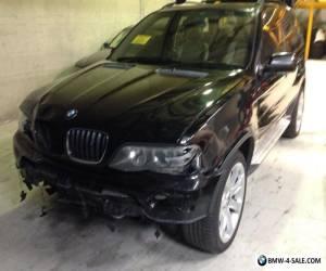 BMW X5 WAGON 3.0 LITRE DIESEL TURBO DAMGED STATUTORY WRITE OFF  for Sale