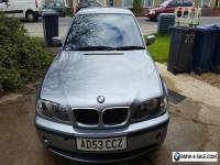 2003 BMW 2.0, MANUAL 6 SPEED 3 SERIES 150BHP 320D ES METALLIC GREY FOR SALE