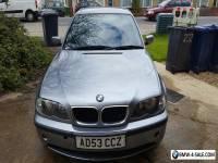 2003 BMW 2.0, MANUAL 6 SPEED 3 SERIES 150BHP 320D ES METALLIC GREY FOR SALE