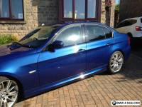 2010 BMW 318I M SPORT E90 BUSINESS EDITION BLUE SAT NAV SERVICE HISTORY