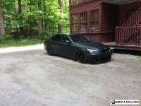 BMW: 5-Series 545i SMG MATT BLACKOUT