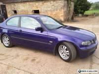 BMW 320d Compact 2001 51 reg Individual