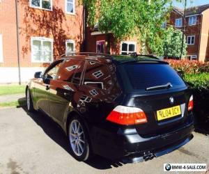 bmw 530d e61 black estate for Sale