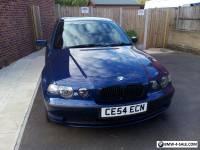 2004 BMW 316TI ES COMPACT BLUE
