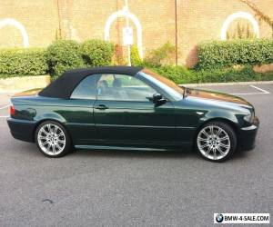 BMW E46 330i Convertible for Sale