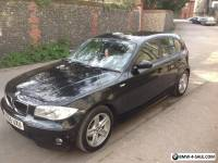 Bmw 1 Series 120d Sport 2006 Diesel Black 5 Door