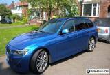 BMW 320D M Sport Touring In Estoril Blue  for Sale