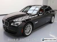 2013 BMW 7-Series 760LI V12 SUNROOF CLIMATE LEATHER NAV HUD
