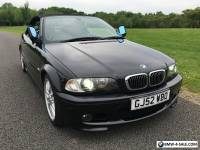 BMW E46 330CI BLACK CONVERTIBLE FULLY LOADED