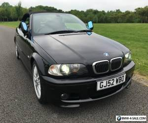 BMW E46 330CI BLACK CONVERTIBLE FULLY LOADED for Sale