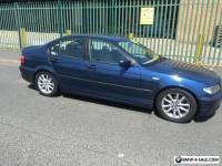 BMW 320d E46 150BHP 2004 automatic